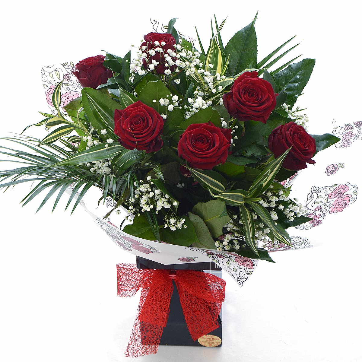 All About You 6 Roses Tudor Rose Florist Ballincollig
